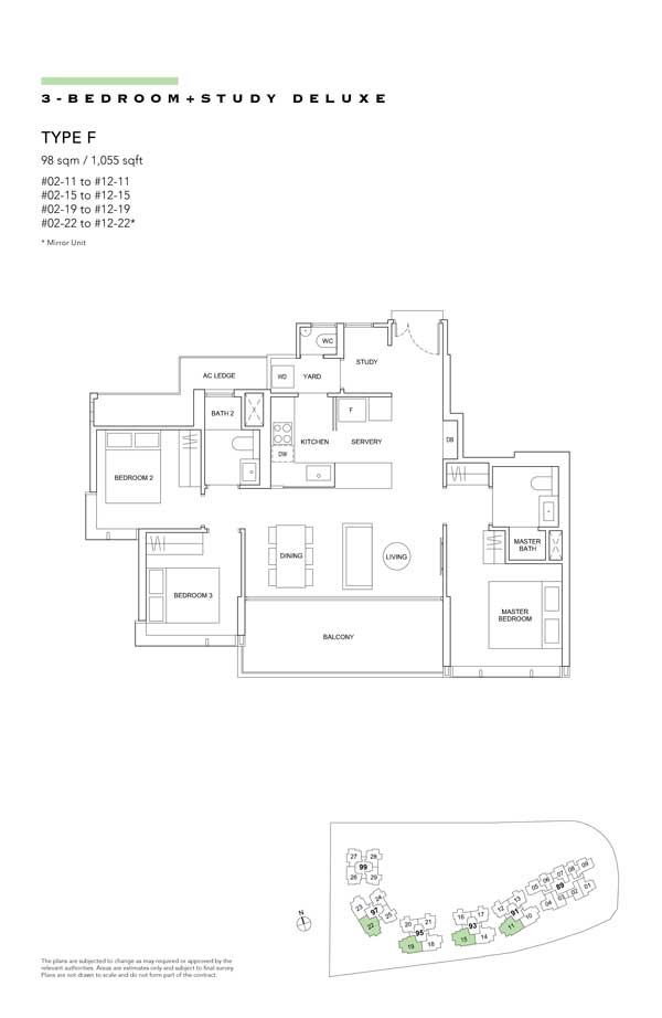 Hyll-on-Holland-floor-plan-3-bedroom-study-deluxe-type-f